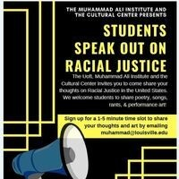 Students Speak Out On Racial Justice