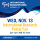 International Research Poster Fair
