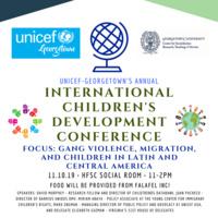 UNICEF-Georgetown's Annual International Children's Development Conference