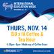 ISU x IA Coffee & Tea Hour