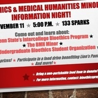Bioethics and Medical Humanities Information Night