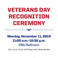 Veterans Day Recognition Ceremony