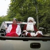 Santa Visits Crooked Run Campground!