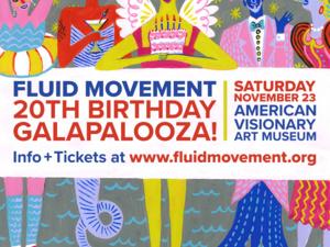 Fluid Movement 20th Birthday Galapalooza!