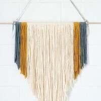 Fall Yarn Wall Hangings