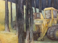 Contested Grounds Drawings by Visual Arts Alumna Carly Drew Artist Talk and Reception