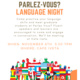 Parlez Vous Language Night