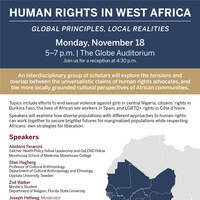 Human Rights in West Africa: Global Principles, Local Realities