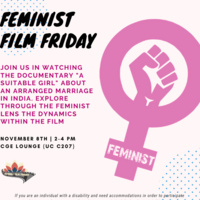 Feminist Film Friday | Center for Gender Equity