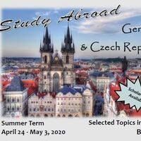 Study Abroad in Germany and the Czech Republic in 2020!
