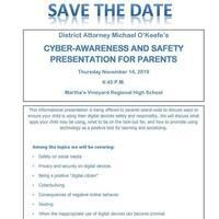 Talk: Cyber-Awareness and Safety Presentation for Parents