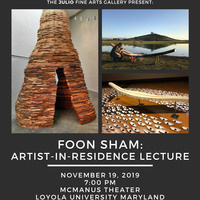 Artist-in-Residence Foon Sham Lecture