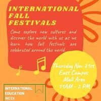 International Fall Festivals