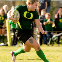 UO Women's Rugby vs Oregon State University