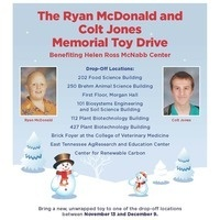 The Ryan McDonald and Colt Jones Memorial Toy Drive