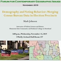 Geography Open House and Forum for Contemporary Geographic Issues