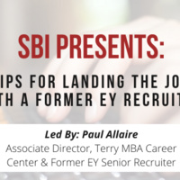 Interviewing Tips with Paul Allair, Former EY Senior Recruiter