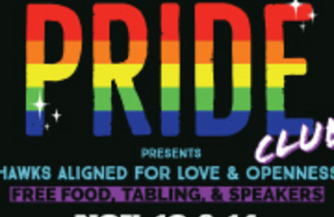 PRIDE CLUB presents HAWKS ALIGNED FOR LOVE & OPENNESS