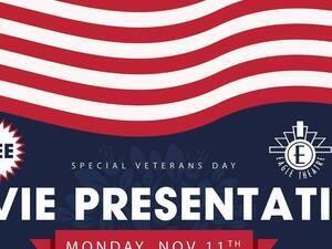 Sugar Hill Special Veterans Day Movie Presentation