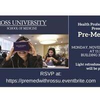 Pre-Med Pep - Ross University