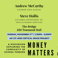 Money Matters: A Critical Space Project