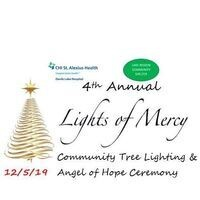 4th Annual Lights of Mercy Tree Lighting & Angel of Hope Ceremony