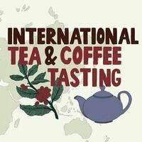 Coffee & Tea Tasting Event