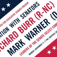 A Conversation with Senators Burr and Warner