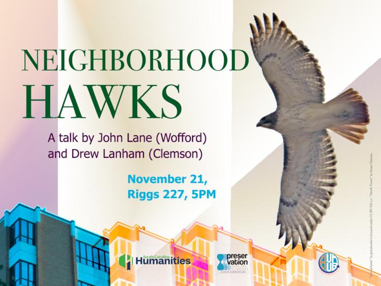 Neighborhood Hawks: A talk by John Lane and Drew Lanham