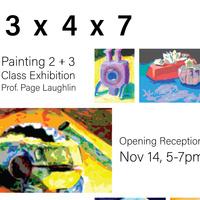 START Gallery Reception: 3x4x7