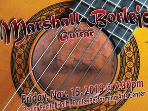 Marshall Borleis, guitar - Junior Recital