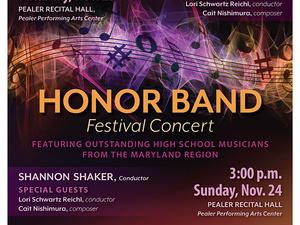 Honor Band Festival Concert