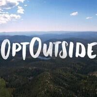 #OptOutside Hike