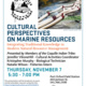Cultural Perspectives on Marine Resources