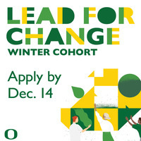 Lead For Change Winter Cohort Application Deadline