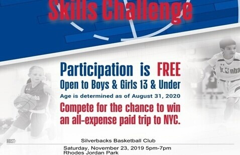 Silverbacks Sports Hosts: Jr. NBA Skills Challenge presented by Under Armour