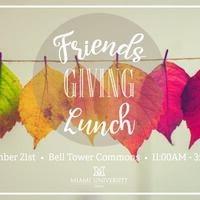 Friendsgiving Lunch