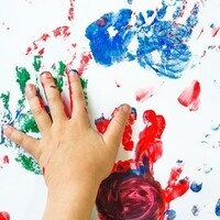 Toddler and Preschool Free Paint