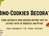 Dino-Cookies Decorating