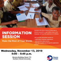 Peace Corp Information Session