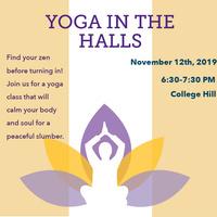 Yoga in the Halls