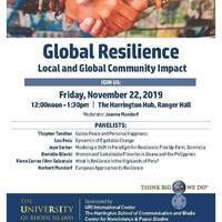 International Education Week Panel: Resilience - Local and Global Community Impact