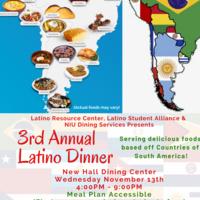 3rd Annual Latino Dinner
