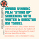 "Award Winning film ""Stand Up"" Screening and Q&A with writer & Direcotr Asi Tsobel"