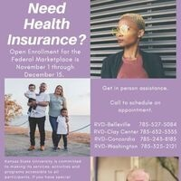 Marketplace Health Insurance Open Enrollment