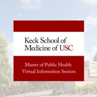 Master of Public Health Virtual Information Session