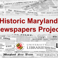 Genealogy Circle Meeting:  Historic Maryland Newspapers Project