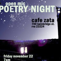 Poetry Night at Cafe Zata