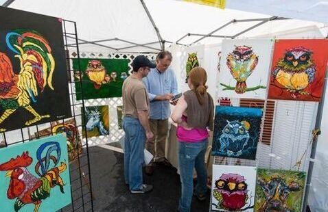 Norcross Art Splash and Wine Festival