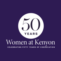 Women at Kenyon logo